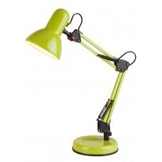 Stolná lampa zelená s päticou E27