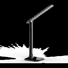 LED Stolná Lampa Stmievateľná 9W 4000K Čierny