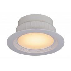 LED Stropné zapustené svietidlo RGB 15W  diaľkový ovládač, reproduktor