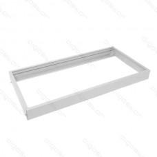 LED panel montážny rám biela 300x600mm