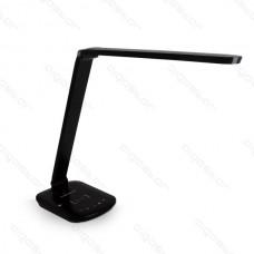 Led stolná lampa 8W s bezdrôtovým Nabíjaním čierna