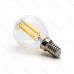 LED žiarovka E14 G45 4W Filament