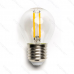 LED žiarovka E27 G45 4W Filament