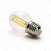 LED žiarovka E27 G45 6W Filament