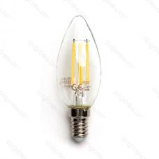LED žiarovka E14 C35 4W Filament