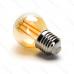 LED žiarovka E27 G45 4W AMBER Filament