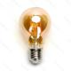 LED žiarovka E27 A60 6W AMBER Filament