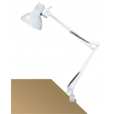 ARNO Stolná lampa biela uchytenie na klip
