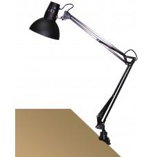ARNO Stolná lampa čierna uchytenie na klip
