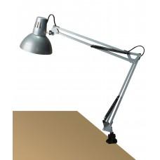 ARNO Stolná lampa strieborná uchytenie na klip