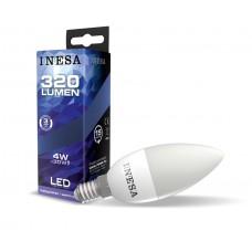 LED žiarovka E14 Sviečka 4W 160° 3000K