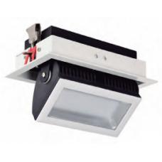 Filux LED Projektor 38W Samsung 120lm/W Adresovateľný obdĺžnikový biely 3000K