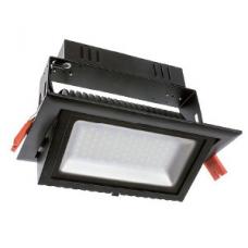 Filux LED Projektor 38W Samsung 120lm/W Adresovateľný obdĺžnikový čierny 3000K
