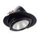 Filux LED Projektor 38W Samsung 120lm/W Adresovateľný kruhový čierny 6000K