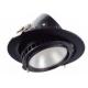 Filux LED Projektor 38W Samsung 120lm/W Adresovateľný kruhový čierny 3000K