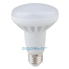 LED žiarovka E27 R80 12W teplá biela