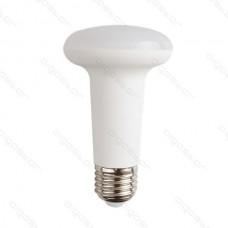 LED žiarovka E27 R63 9W studená biela