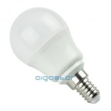 LED žiarovka E14 G45 7W studená biela