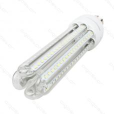 LED žiarovka E27 CORN T4 4U 30W teplá biela