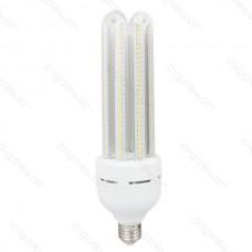 LED žiarovka CORN T5 4U E27 38W studená biela