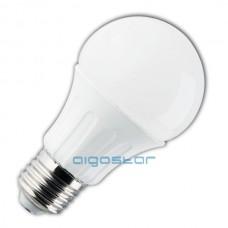 Led žiarovka E27 A60 6W 280° studená biela