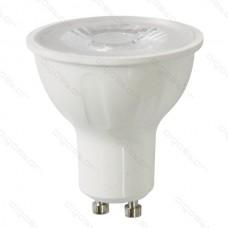 LED žiarovka GU10 6W COB teplá biela