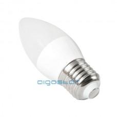 LED žiarovka E27 C37 7W 270° studená biela