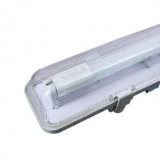 Prisadené svietidlo pre jednostranné trubice T8 150cm IP65 Single