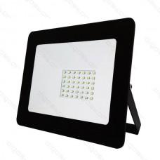 LED SLIM reflektor 30W 6400K
