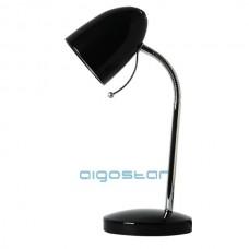 Stolná lampa čierna E27 päticou