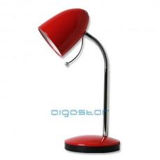 Stolná lampa červená E27 päticou