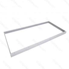 LED panel montážny rám biela 600x1200 mm