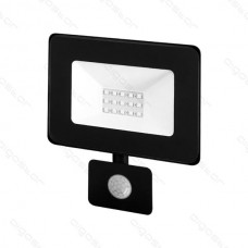 LED SLIM reflektor so senzorom 10W 4000K