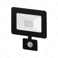 LED SLIM reflektor so senzorom 20W 4000K