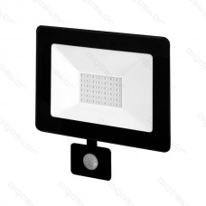 LED SLIM reflektor so senzorom 30W 4000K