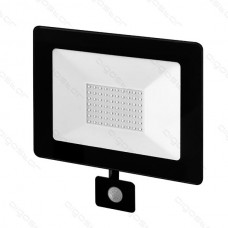 LED SLIM reflektor so senzorom 50W 4000K