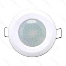 Infračervený pohybový senzor, zapustený, biely