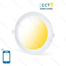 SMART LED SLIM DOWN LIGHT 18W WIFI CCT(3000K-6500K)(Cutout:205mm)
