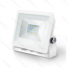 LED SLIM Reflektor biely 10W 4000K