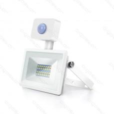 LED SLIM reflektor biely so senzorom 20W 4000K