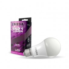 LED žiarovka E27 A70 14W 180° 4000K
