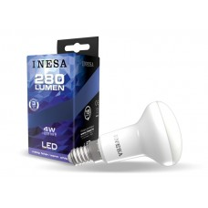 LED žiarovka E14 4W 105° R50 3000K