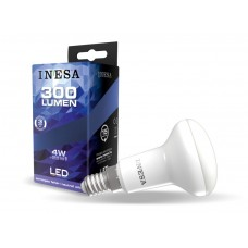 LED žiarovka E14 4W 105° R50 4000K