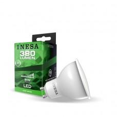 LED žiarovka GU10 5W 105° 6500K Stmievatelná