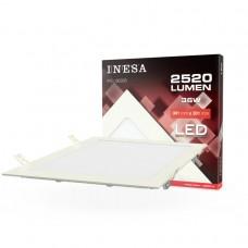 LED panel 300x300mm 36W 2520Lm 3000K