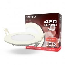 LED panel Ø120mm 6W 420Lm 4000K