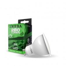 LED žiarovka GU10 4W 38° 6500K