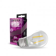 LED žiarovka E27 G45 2W Filament