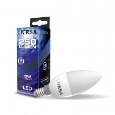LED žiarovka E14 Sviečka 3W 160° 3000K