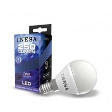 LED žiarovka E14 3W 160° 3000K